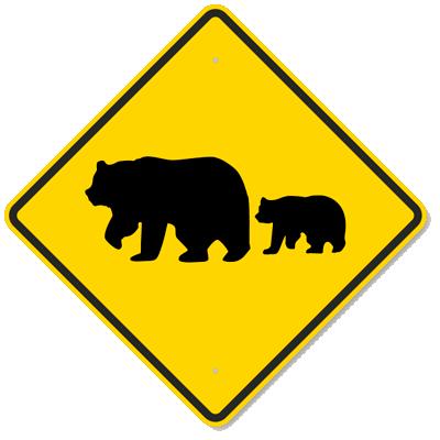 Bear crossing - fonte web